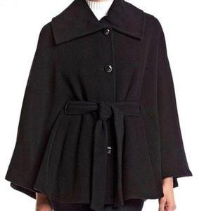 Calvin Klein Wool Shawl Cape Coat